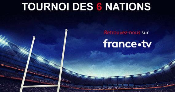 XEFI est à nouveau Parrain officiel du Tournoi des 6 Nations sur France TV !